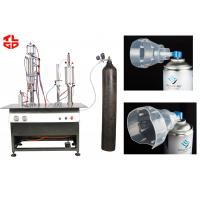 China Safe Oil Free Fresh Air / Oxygen Gas Filling Machine With Compressed Air Power wholesale