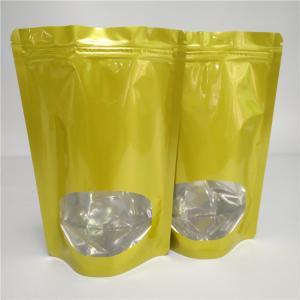 China Heat Sealed Dry Food Bags Custom Snack Packaging Aluminum Foil For Tea / Coffee Bean wholesale