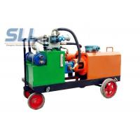 China Variable Output Hydraulic Grout Pump / High Pressure Grout Pump Easy Operate wholesale