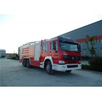 High Spraying Water Tanker Fire Truck With Mercedes Actros 3344 Chassis