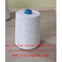 China 10s 12s/4 20/6 bag closing thread for pp bag wholesale