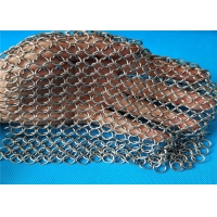 China Kitchen Chainmail Cast Iron Cleaner Scrubber For Kit Bright wholesale