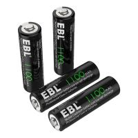 China 1100mAh AA Rechargeable Batteries, 1.2V NiCd Rechargeable Battery wholesale