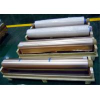 Buy cheap 1290mm Width Copper Foil Shielding 105um Thickness 76mm Coil For MRI Rooms from wholesalers