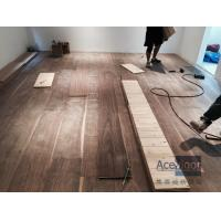 China Customized 20/6 x 300 x 2200mm AB grade American Walnut Flooring for Philippines Villa Project wholesale