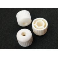China RAL7035 Plastic Injection Molding Products Light Grey M22 Plastic Threaded Caps wholesale