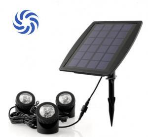 Buy cheap 150 Lumens Super Bright Solar Powered Garden Spotlights 4500K - 5500K For Illumination from wholesalers