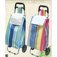 China Popular Trolley Shopping Bag Oxford fabric shopping bag Convenient Trolley shopping bag with wheels wholesale