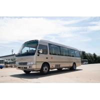 China Good Condition Front Cummins Engine 7.7M Toyota Coaster 31 Seats Capacity on sale