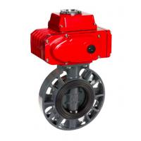 China WZLD Manual And Pneumatic Custom Temperature ASME B16.47 B Worm Gear Butterfly Valv on sale