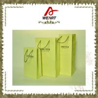 China Customized  Kraft  Paper For  Gift  Bags With Paper Twisted Rope wholesale
