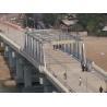 China Cable Stayed Modular Steel Pedestrian Bridge Heavy LoadingFor Delta wholesale