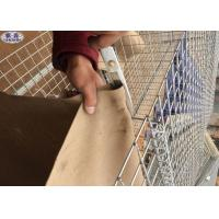 5mm Wire Sand Filled Barriers Geotextile Lined Hesco Bag For Manufacture