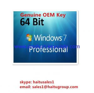 China Microsoft Windows Product Key Windows 7 Professional OEM Key 32 / 64Bit on sale