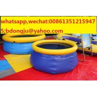 Buy cheap Hotsale pvc inflatable swimming pool covering from wholesalers