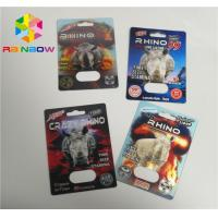 China Capsule PP 3D Printing Plastic Card Single / Double Pill Hole For Rhino 69 on sale