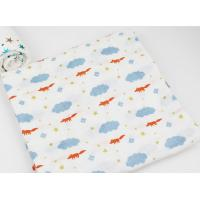 Buy cheap Factory Custom 2 Layers Muslin Soft Breathability Baby Cotton Washcloth Face from wholesalers