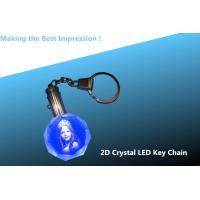 China 2D Crystal Personalized Key Chain- Octagon/crystal keychain/key chain/key ring/keyring wholesale