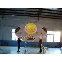 China 3.5*2m Reusable Inflatable Advertising Oval Balloon,0.18mm helium quality PVC with Two side printing for opening events wholesale