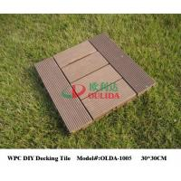 China Indoor Interlocking Composite Deck Tiles Fire Resistance Fading Resistance wholesale