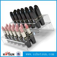 China Promotional Acrylic Comestic Store Lipstick Display Stand wholesale