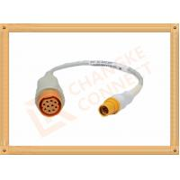 China 10 Pin Female IBP Invasive Blood Pressure Cable Siemens Draeger wholesale