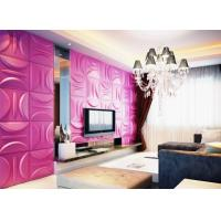China Anti-Vibration Wall Background Modern 3D Wall Panels for Living Room / Bedroom Decoration wholesale