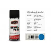 China 400 Ml Aerosol Spray Paint Light Sky Blue Color ForCleaning Grease / Wax / Rust wholesale
