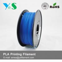 Quality 1.75mm Fluorescent Blue PLA 3D Printer Filament For Desktop 3D Printer for sale