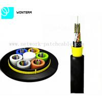 China ADSS Optical Fiber Cable All Dielelectric Self - Support With Aramid Yarn on sale
