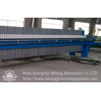 China Mineral Industry Plate And Frame Filter Press,Sludge Dewatering Pressure Filter on sale