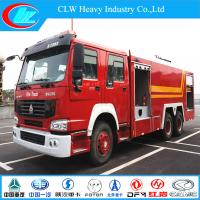 China Sinotruck 6X4 Water/Foam Fire Fighting Truck (CLW1258) wholesale