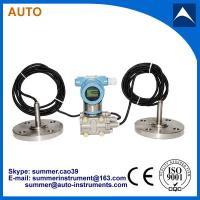 Quality remote transmission differential pressure transmitter with 4-20mA output hart for sale