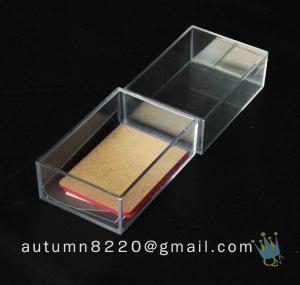 China BO (101) acrylic beauty case wholesale