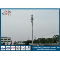 China H25m Industry Steel Tapered Telecommunication Towers Hot Dip Galvanized Painting wholesale