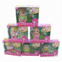 China 7-inch Soft Doll, Made of Plastic wholesale