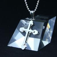 China Fashion Top Trendy Stainless Steel Cross Necklace Pendant LPC269 wholesale