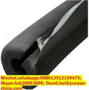 China Self adhesive cut foam insulation pipe wholesale