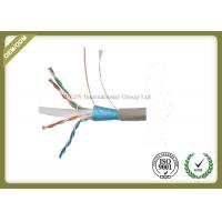 China STP/Foiled Twisted Pair  Indoor CAT6 Network Lan Cable100% pure copper  4pairs 0.57mm with Fluke test wholesale