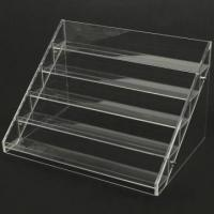 China 13 Years Factory Clear Acrylic Nail Polish Table Display Rack / Acrylic Nail Polish stand wholesale