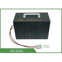 China Light Weight Deep Cycle Lithium Battery 48V 20Ah High Discharge Rate No Memory Effect wholesale