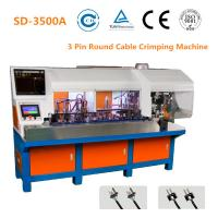 China 2 Pin Plug Semi Automatic Crimping Machine 24mm Stripping Size 1800 - 2000 PCS/H wholesale