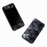 China 3D Crystal Skins for iPhone 4/4S, Anti-scratch and Water/Dust-resistant wholesale