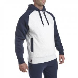 China Winter Blank Men Hoody Sweater Custom Hoodies Wholesales 100% cotton fleece hoodies men white&blue on sale