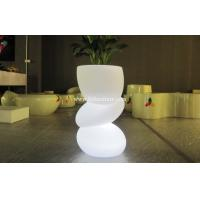 China Wireless Remote Control LED Plant Pots PE Material For Indoor / Outdoor wholesale