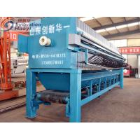 China Blue Carbon Steel  Plate And Frame Filter Press High Recycle Rate Available wholesale