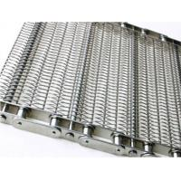 China Food Processing Wire Mesh Conveyor Chain , Sprocket Drive Stainless Steel Chain wholesale