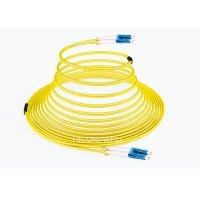 China FTTH LC-LC SM DX Fiber Optic Cable Patch Cord 1m 3m 5m Patch Cables on sale