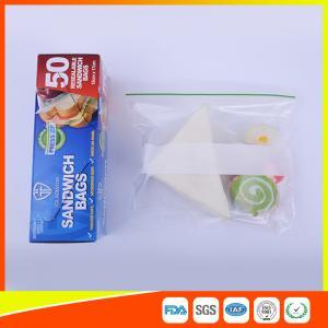 China Multi Size Ziplock Plastic Bags For Food Storage , Zip Sandwich Bags OEM Acceptable wholesale