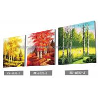 China Scenery Design 3D Lenticular Printing Service 3D Frameless Pictures wholesale